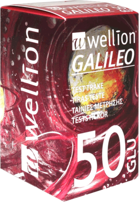 WELLION GALILEO Blutzuckerteststreifen