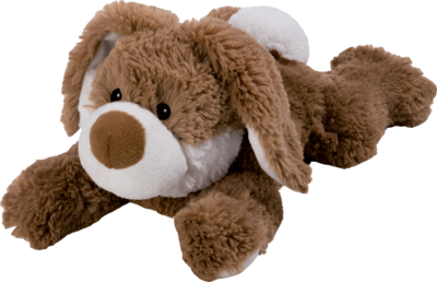 WÄRME STOFFTIER Beddy Bear Hase Plush liegend