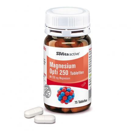 SOVITA active Magnesium OPTI 250