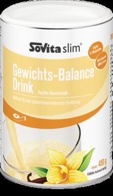 SOVITA slim Gewichts-Balance Drink Vanille Pulver