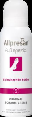 ALLPRESAN Fuß spezial Nr.5 schwitzende Füße Schaum