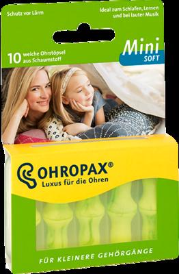 OHROPAX mini soft Schaumstoff Stöpsel