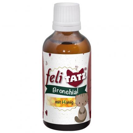FELITATZ Bronchial Ergänzungsfuttermittel flüssig für Katzen