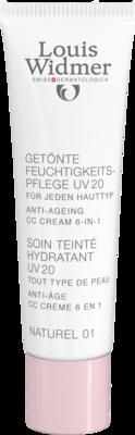 WIDMER Feuchtigkeitspfl.getönt UV20 CC naturel NP