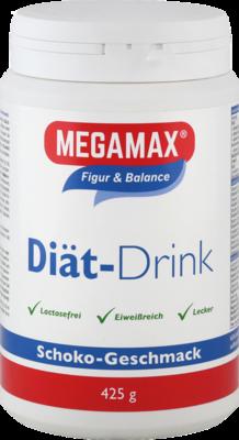 MEGAMAX Diät Drink Schoko Pulver