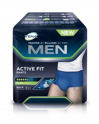TENA MEN ACTIVE FIT PANTS PLUS M