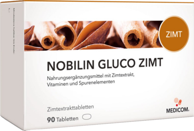 NOBILIN Gluco Zimt Tabletten