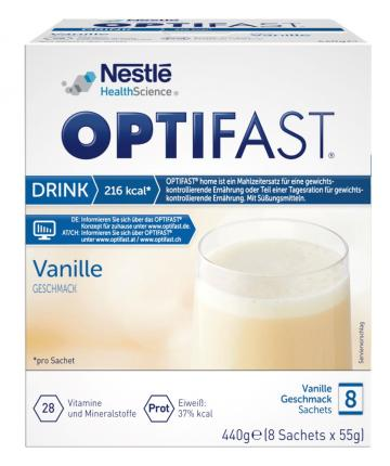 OPTIFAST home Drink Vanille Pulver