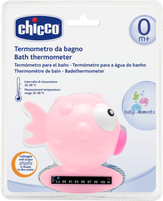 BADETHERMOMETER Fisch rosa CHICCO