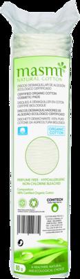 BIO KOSMETIKPADS 100% Bio-Baumwolle MASMI