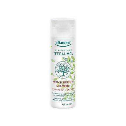 ALKMENE Teebaumöl Anti-Schuppen-Shampoo