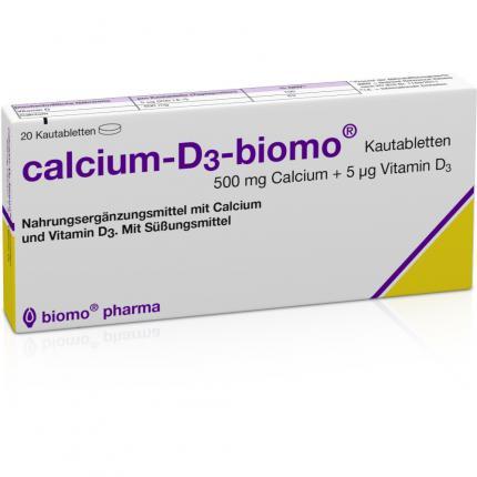 CALCIUM D3 BIOMO KAU 500+D