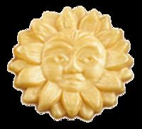 KAPPUS Gästeseife Sonne gold