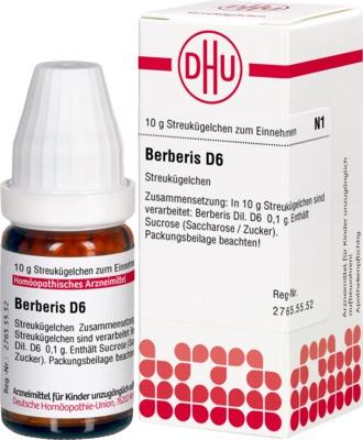 BERBERIS D 6 Globuli
