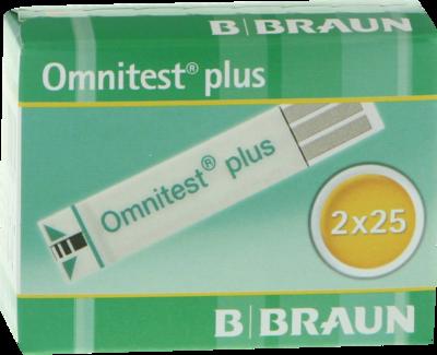 OMNITEST Plus Blutzucker Teststreifen