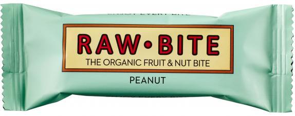 Raw Bite Bio Riegel Peanut