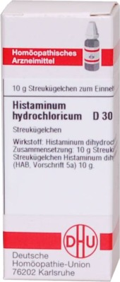 HISTAMINUM hydrochloricum D 30 Globuli