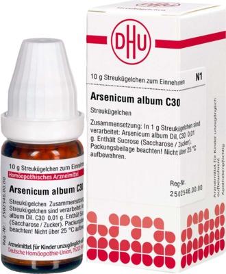 ARSENICUM ALBUM C 30 Globuli
