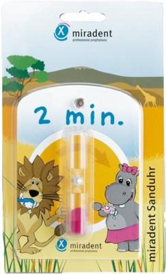 MIRADENT Kinder-Zahnputzuhr Sanduhr