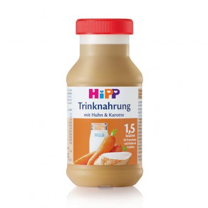 HIPP Trinknahrung Huhn & Karotte Kunstst.Fl.