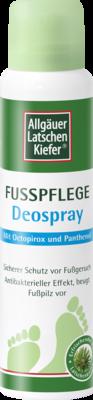 ALLGÄUER LATSCHENK. Fußpflege Deospray