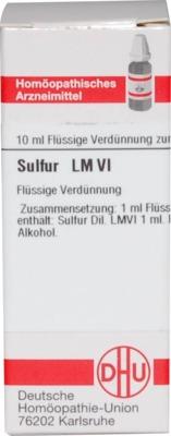 LM SULFUR VI Dilution