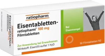 Eisentabletten-ratiopharm 100mg