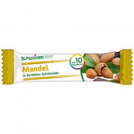 DR.MUNZINGER Fruchtschnitte Mandel schokoliert