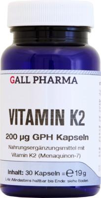 VITAMIN K2 200 µg GPH Kapseln