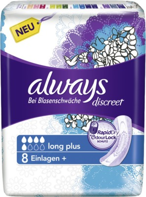 ALWAYS discreet Inkontinenz Binden long plus