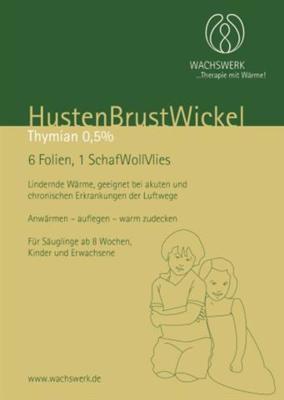 HUSTEN BRUST Wickel Thymian Wachswerk