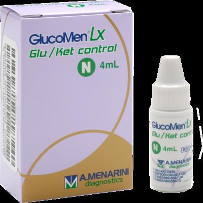 GLUCOMEN LX Plus Control N Glukose+Ketone Lsg.