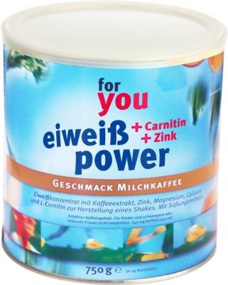 FOR YOU Eiweiß Power Milchkaffee