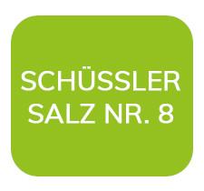 Homöopathiefuchs Schüssler Salz Nr. 8