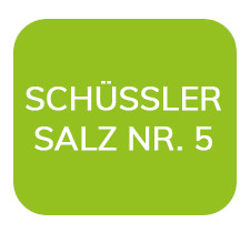 Homöopathiefuchs Schüssler Salz Nr. 5