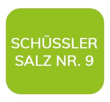 Homöopathiefuchs Schüssler Salz Nr. 9