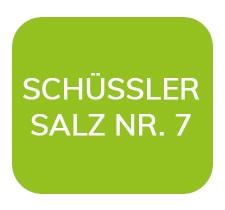 Homöopathiefuchs Schüssler Salz Nr. 7