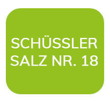 Homöopathiefuchs Schüssler Salz Nr. 18